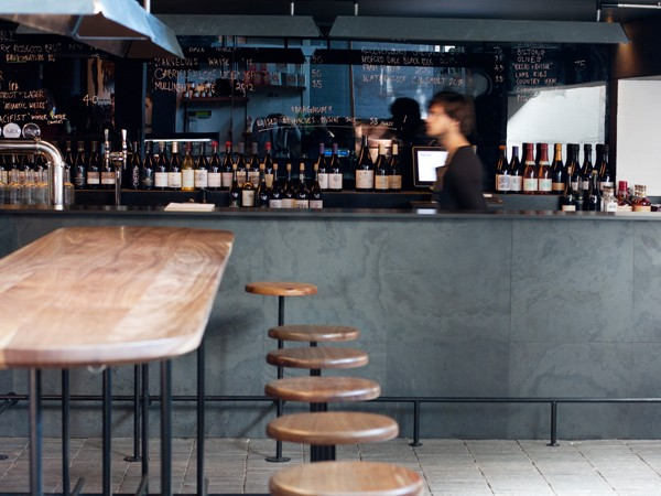 Publik Wine Bar shares a space with ASH and Frankie Fenner Meat Merchants. Photo by Matthew Ibbotson.