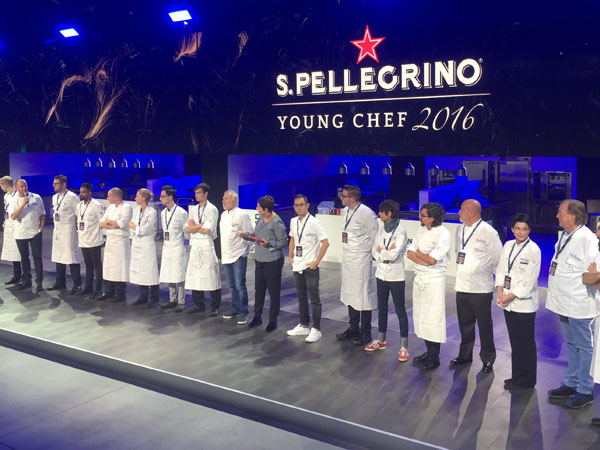 Live reporting from top international chef competition