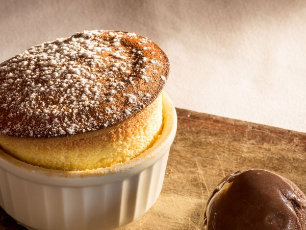 A delicious soufflé at 9th Avenue Bistro. Photo supplied.