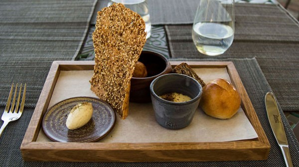 The bread board at Faber. Photo by Rupesh Kassen.