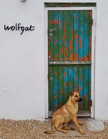 Wolfgat's unassuming entrance. Photo supplied.