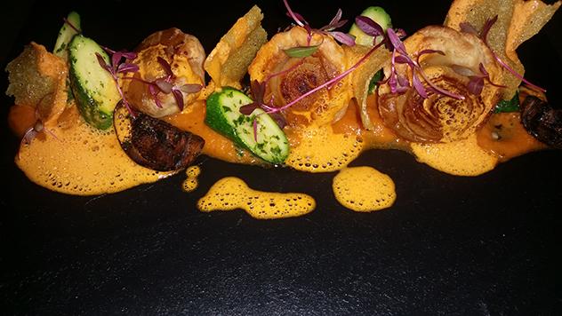 Brasserie de Paris's ratatouille. Photo supplied.