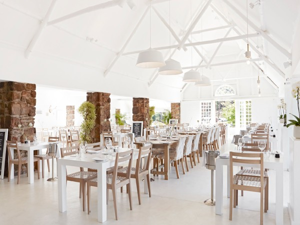 The fresh interiors at Harbour House at Constantia Nek. Photo supplied.