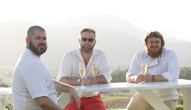The chefs have partenered with the Von Armin family who own the wine estate for the venture. Photo supplied.