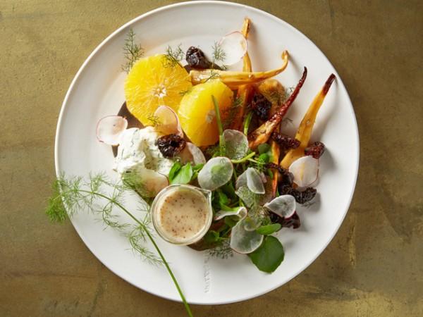 A salad at Hemelhuijs. Photo supplied.