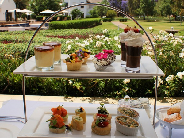 The picture perfect high tea at Kievits Kroon. Photo supplied.