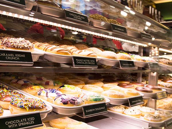kkd company Krispy kreme's new owner dunks doughnuts in coffee the company has made coffee a german billionaire heirs to add krispy kreme doughnuts.