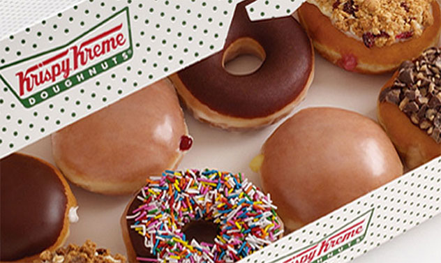 Mixed doughnuts from Krispy Kreme. Photo supplied.