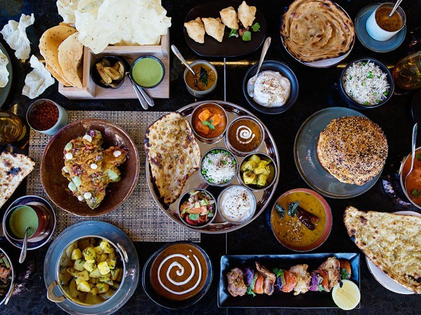 A colourful Indian feast at Marigold. Photo supplied.