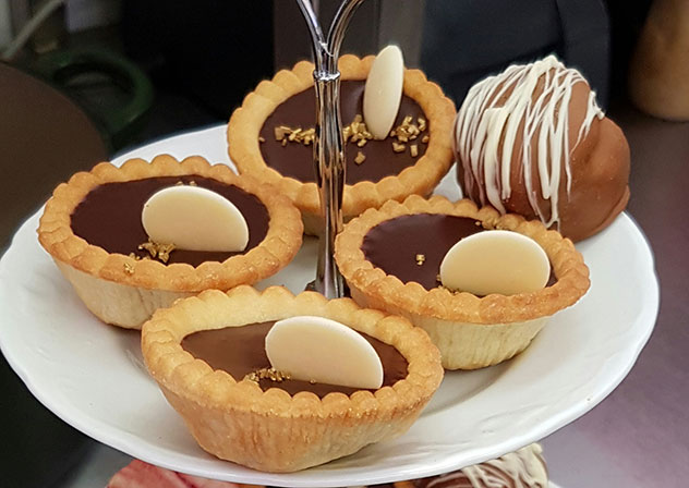 Patisserie de Paris's ganache tartlets. Photo supplied.