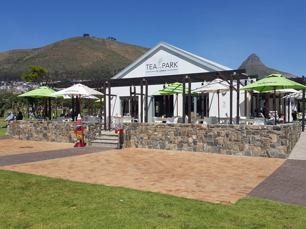 The new Tea in the Park café at Green Point's Urban Park. Photo supplied.