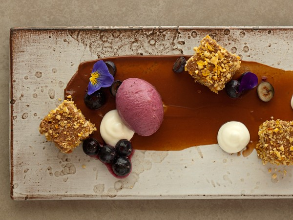A dessert dish at Origins. Photo supplied.