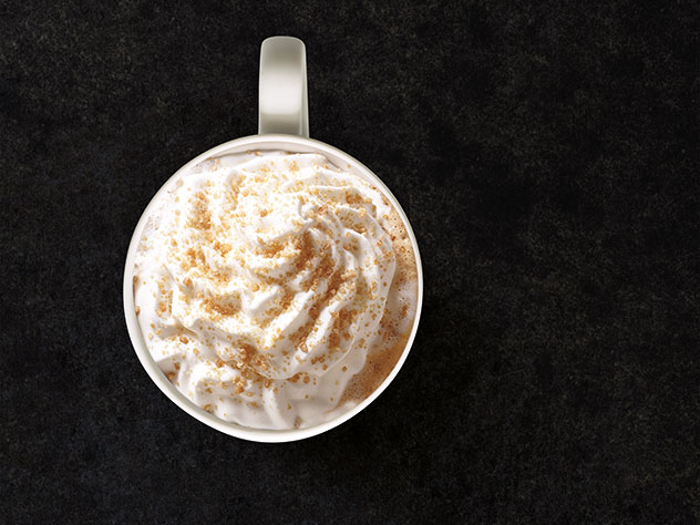 The Toffee Nut Latte. Photo supplied.