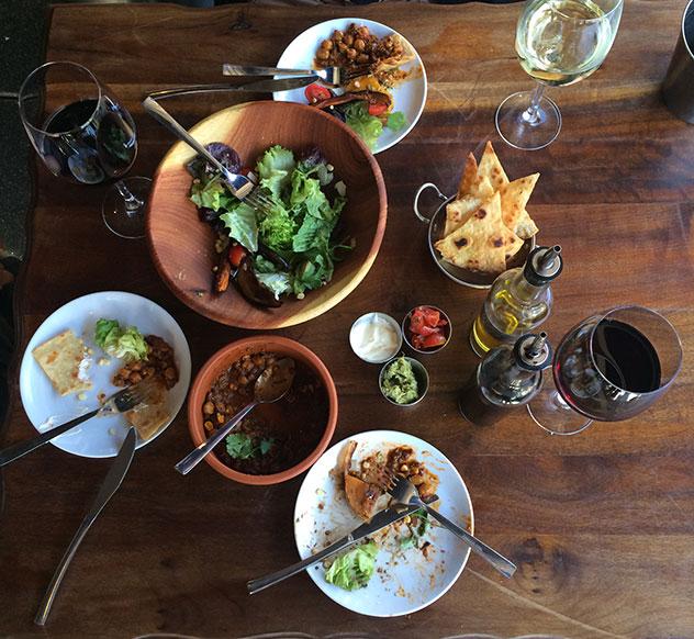 A spread at Trio. Photo supplied.