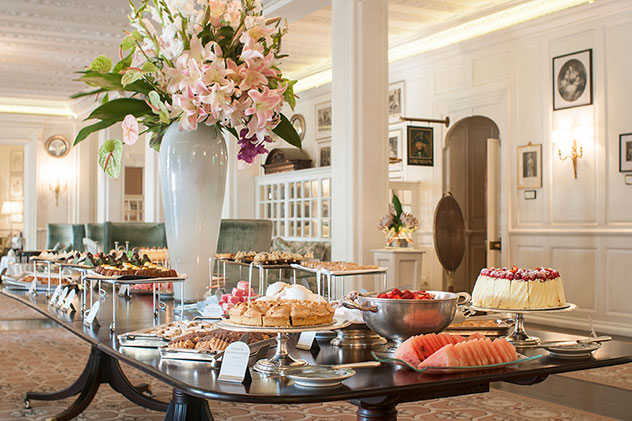 The iconic spread at The Belmond Mount Nelson. Photo supplied.