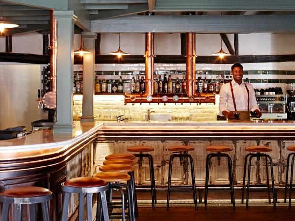 The slick new bar at La Parada Constantia Nek. Photo supplied.