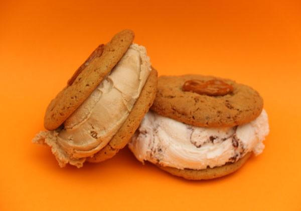 The pretzel choc-chip cookie. Photo supplied.