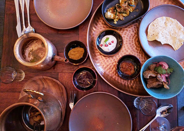 Thali copper plates