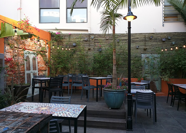 Thali courtyard