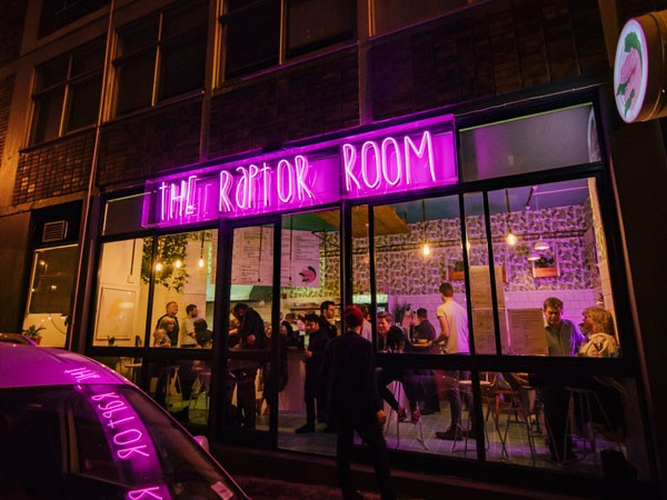 The Raptor Room on Roeland Street. Photo supplied.