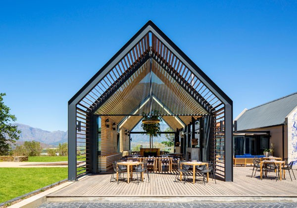 The stunning venue for Bosjes Kombuis. Photo supplied.
