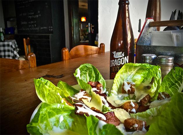 A salad at Bella Casa. Photo supplied.
