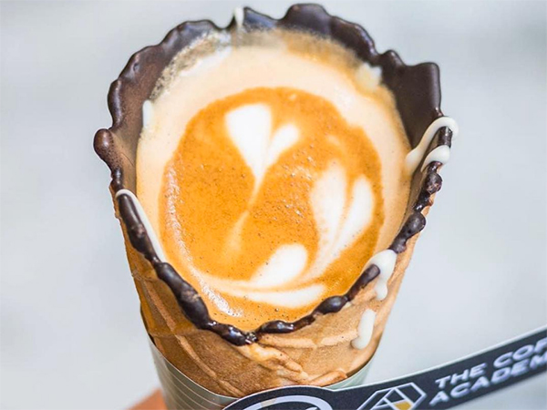 Watch: The world's most Instagrammable coffee comes to a café near you