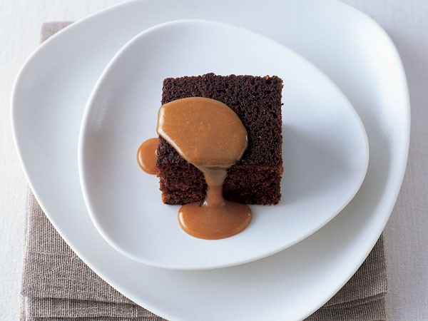 James Martin's sticky toffee pudding. Photo supplied.