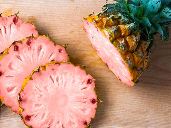Meet the pink pineapple, this season's most Instagrammable fruit