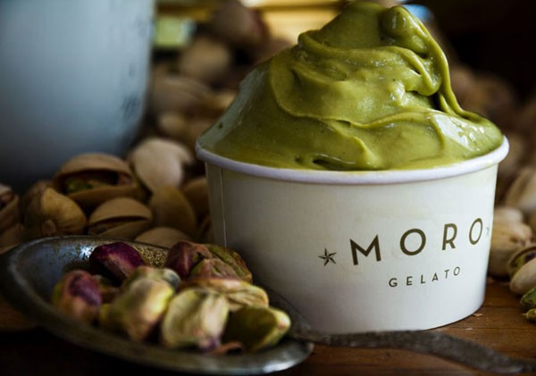 Pistachio gelato at Moro Gelato on Long Street. Photo supplied.