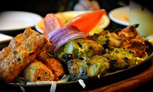 A platter at Spice. Photo supplied.