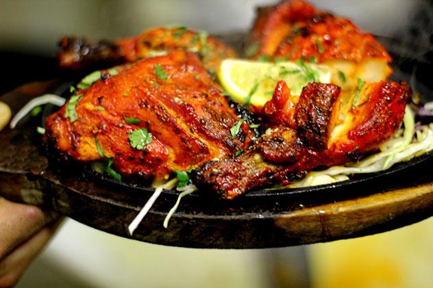 Tandoori chicken. Photo supplied.