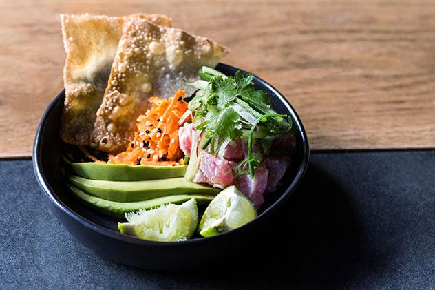 The tuna ceviche. Photo supplied.