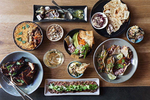 A selection of tapas dishes at The Mess. Photo supplied.