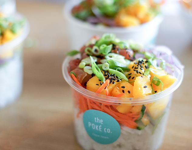 A bowl of poké by The Poké company. Photo supplied.