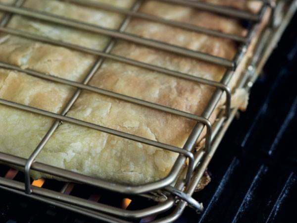 Spinach and feta braai pie. Photo supplied.