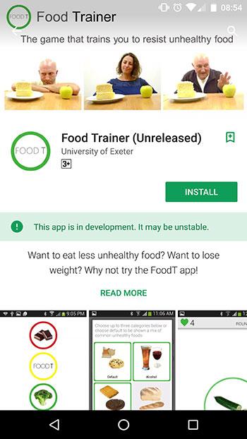 food-trainer