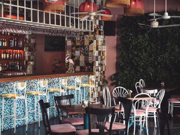 The interior at Brian Lara Rum Eatery. Photo supplied.