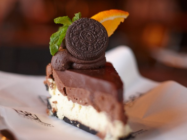 The Nutella and Oreo cheesecake at Burger & Lobster. Photo supplied.