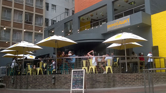 Review Hip Bar Food And Zwakhala Vibes At The Immigrant