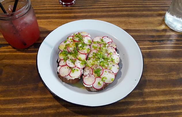 Labneh with radish tartine_Wholesome