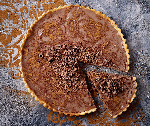 Mexican milk tart. Photo courtesy of Two.
