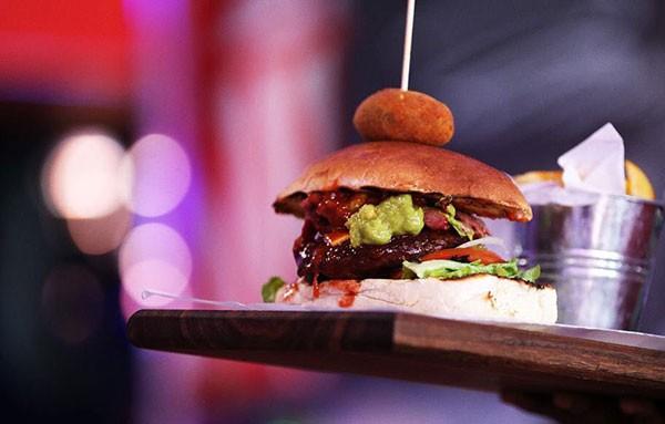 A burger at Mustang Sally. Photo supplied.