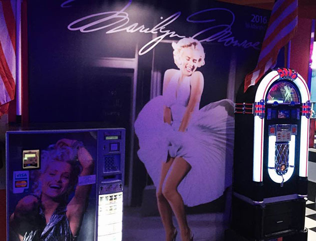 Dine with Marilyn Monroe, James Dean and Elvis at Mustang Sally. Photo supplied.