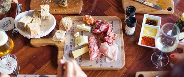 A range of charcuterie and cheese on offer at Old Town Italy. Photo supplied.