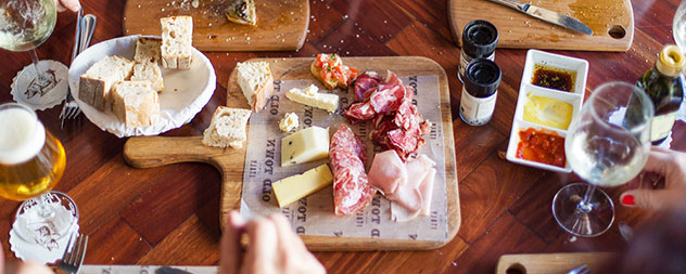 A range of charcuterie and cheese on offer. Photo supplied.