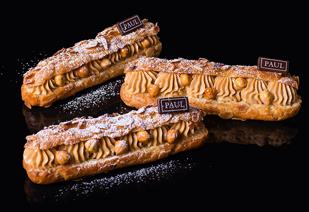 The eclairs at PAUL. Photo supplied.