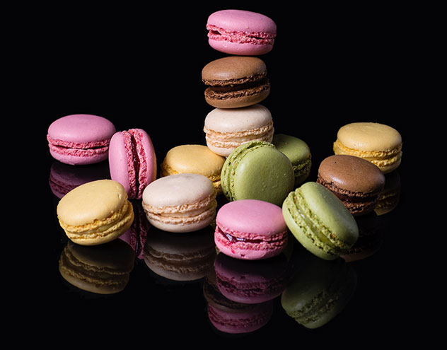 A selection of PAUL macarons. Photo supplied.