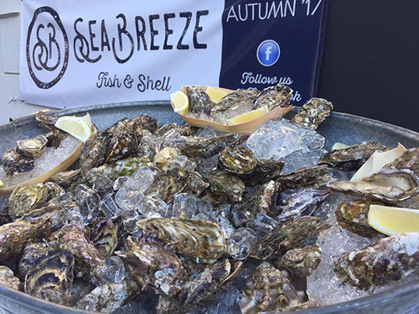 Pop-up oyster bar opens on Bree Street