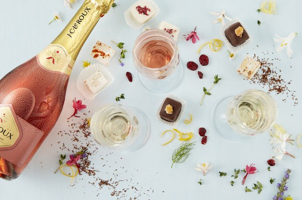 The House of J.C. Le Roux nougat and bubbly tasting. Photo supplied.